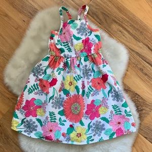 Crazy 8 Girls Floral Dress Size 5T
